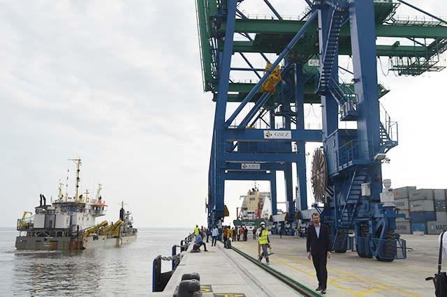 Le nouveau port d'Owendo: enfin prêt !