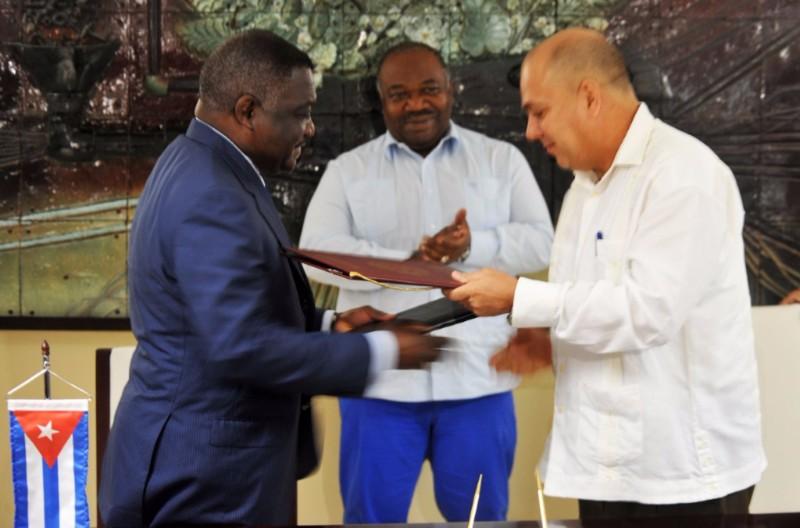 Signature d'un accord de coopération de santé entre le Gabon et Cuba!
