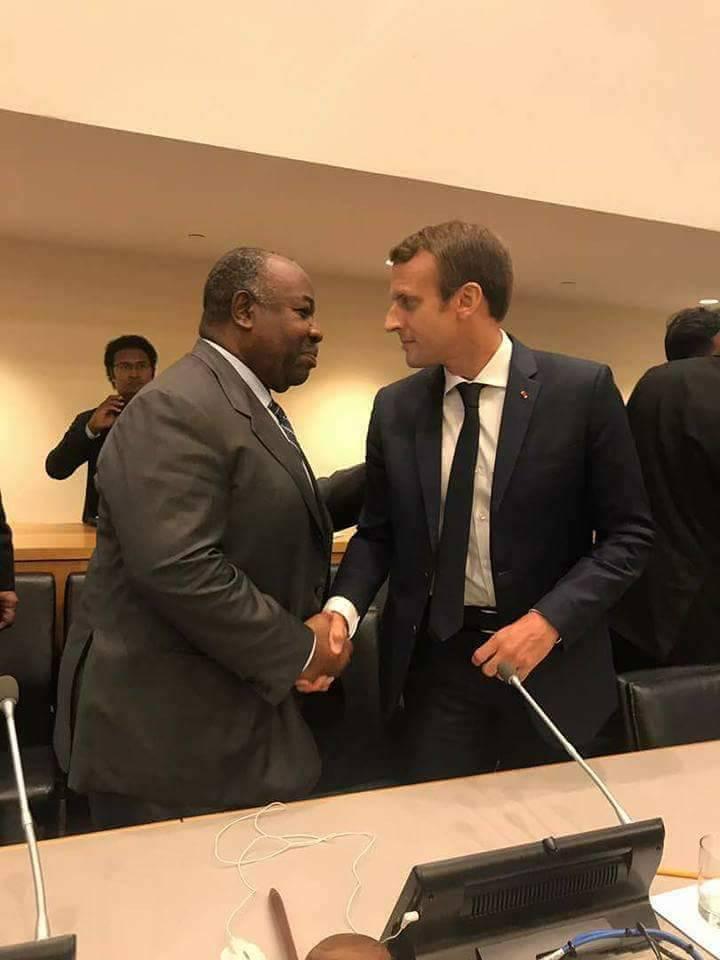 Ali Bongo adhère au pacte mondial pour l'environnement!