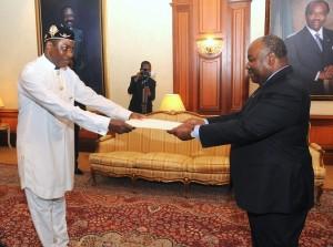 Ambassadeur du Nigeria S.E. Udo-Inyang Joseph INYANG