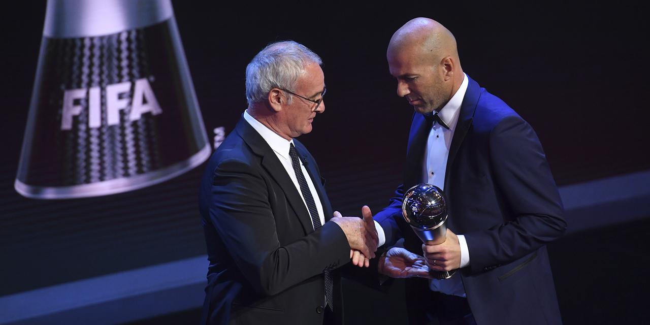 Et Zinedine Zidane sacré meilleur entraîneur 2017!