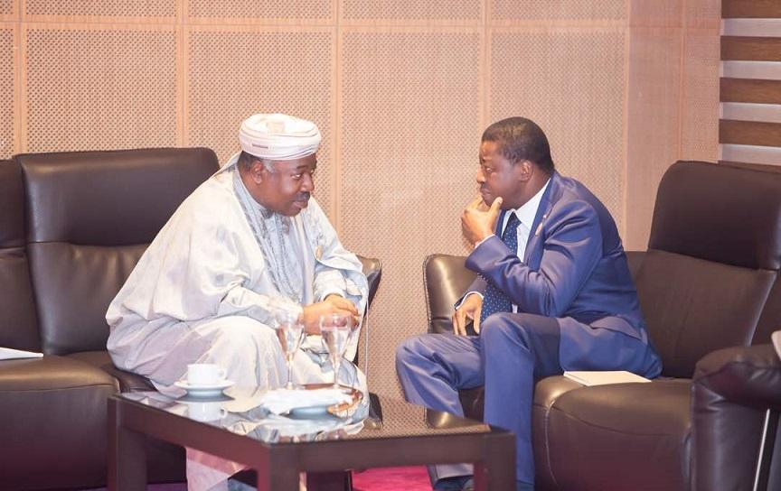 Ali Bongo Ondima et Faure Essozimna Gnassingbé: rencontre entre les chefs de la CEEAC et la CEDEAO!