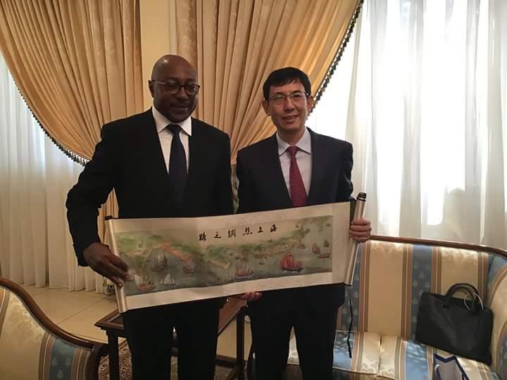 Relation Chine -Gabon au beau fixe!