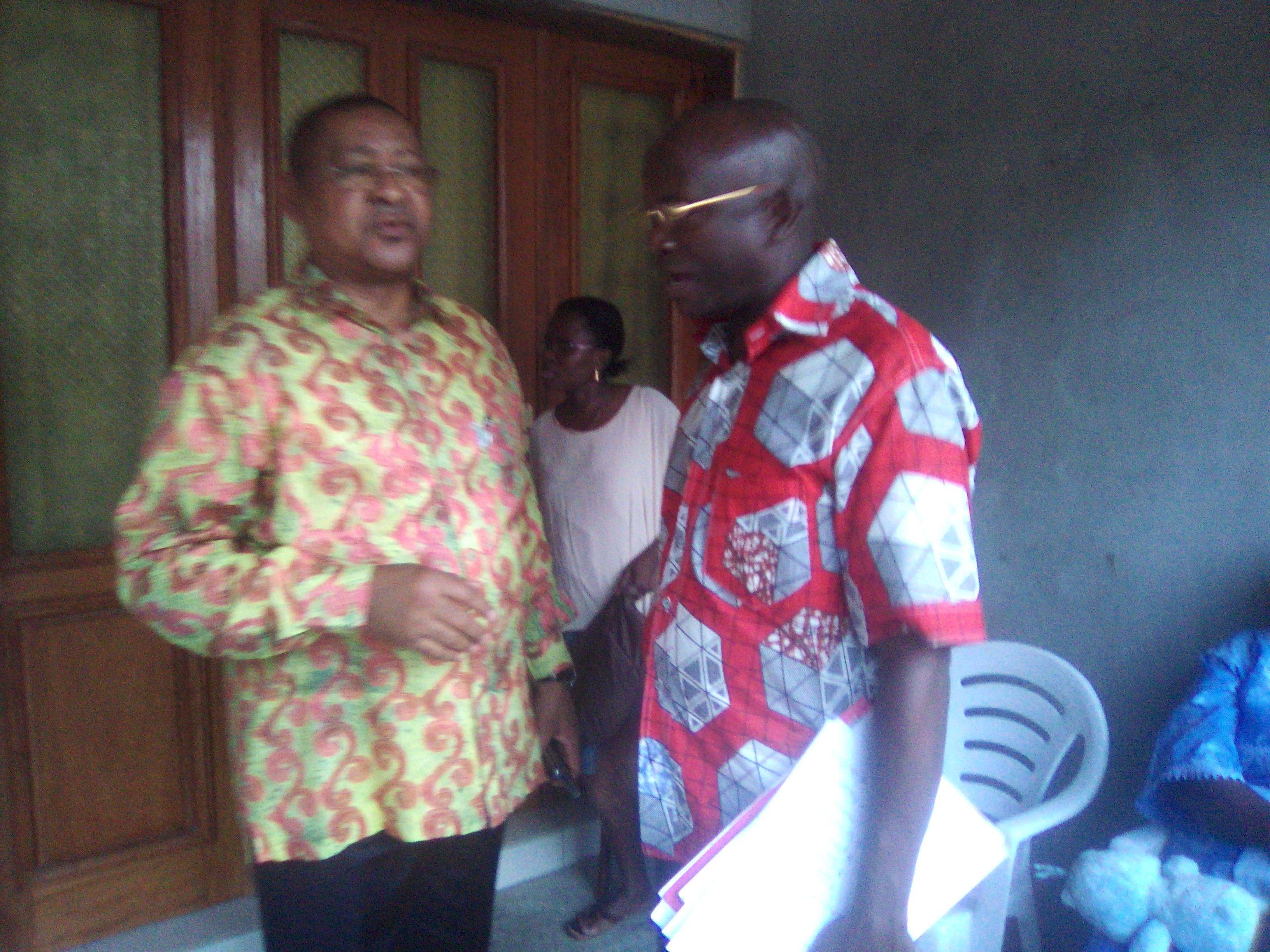 Jean Marie Ogandaga: une volonté de fer!