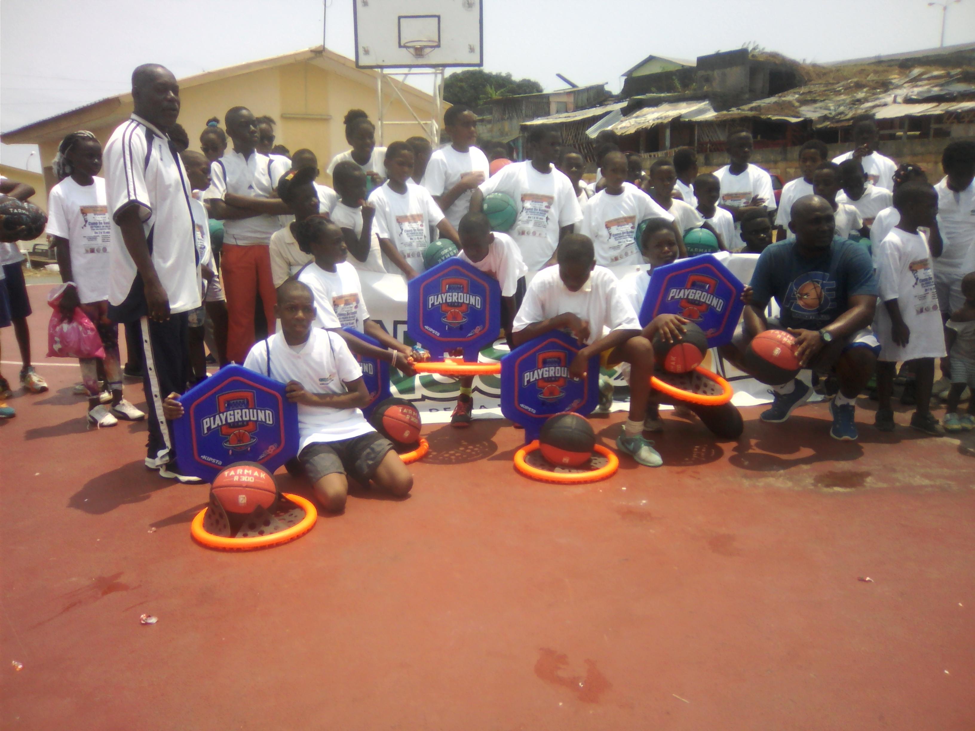 Camp d'initiation au basket: un bon souffle pour les enfants!
