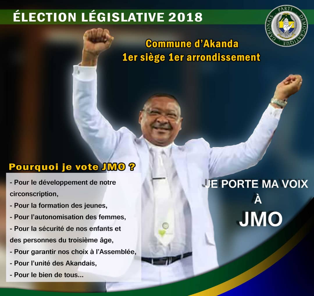 Législatives 2018: Jean Marie Ogandaga prône une nouvelle vision pour le premier arrondissement d'Akanda!
