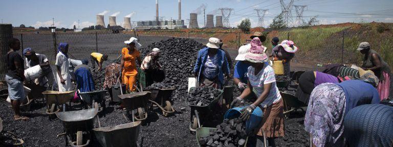Pollution / Afrique du sud:  Le fond de l'air est noir!