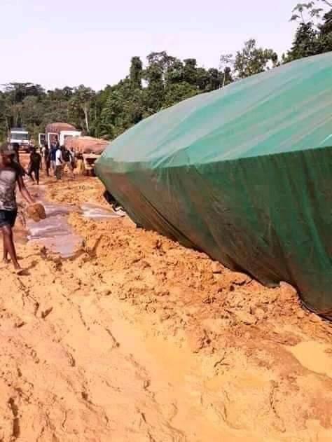 Réhabilitation de la route Makokou / Ntseng Kele: A quand une solution définitive?