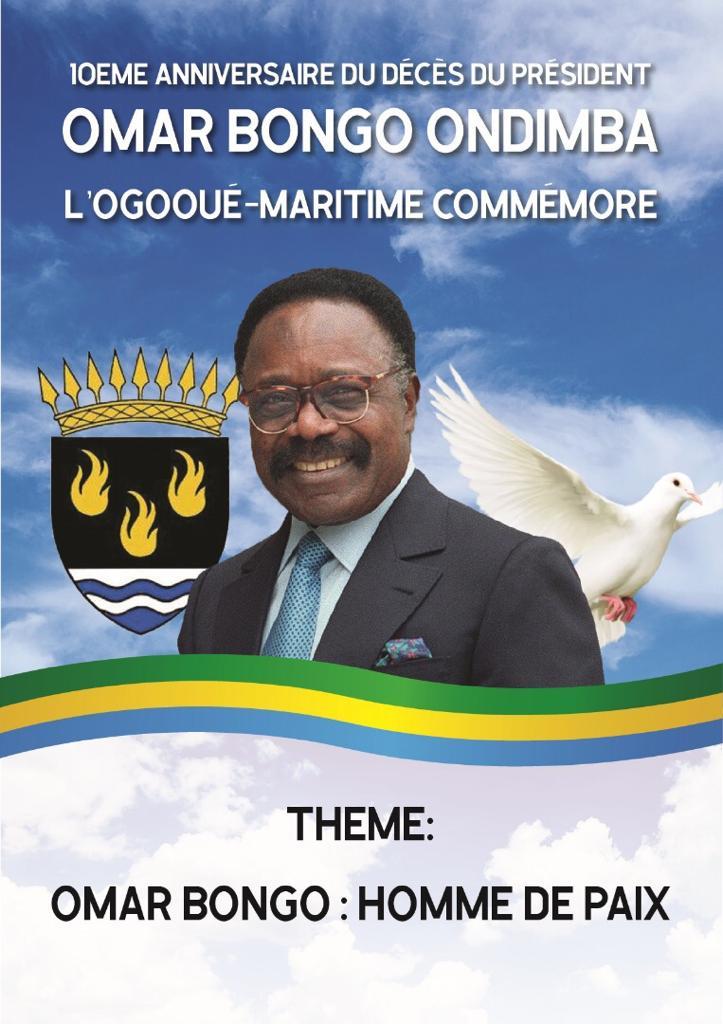 Port gentil unis pour commémorer le 10eme anniversaire de la mort de feu Omar Bongo Ondimba !