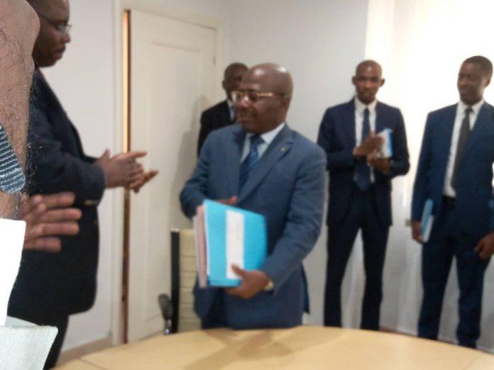 Rigobert Ikamboya Ndeka, dans ses nouvelles fonctions!
