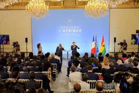 Emmanuel Macron a reçu les diasporas africaines en France mais celle du Gabon absente!