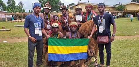 Le Gabon valablement représenté au festival culturel Mvet-Oyeng!