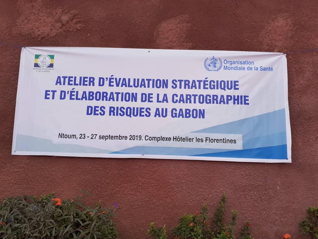 Atelier sur la cartographie des risques au Gabon!