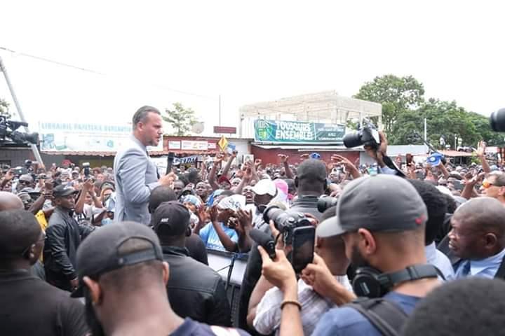 DCPR à Akanda: un accueil à la hauteur de sa personnalité !