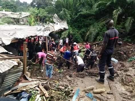Une maman et sa fille perdent la vie suite au glissement de leur maison!