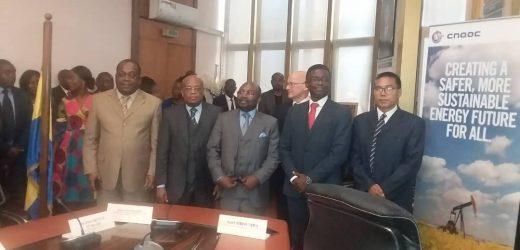 Signature d'un nouveau contrat pétrolier entre l'État gabonais et la société CNOOC limites..!