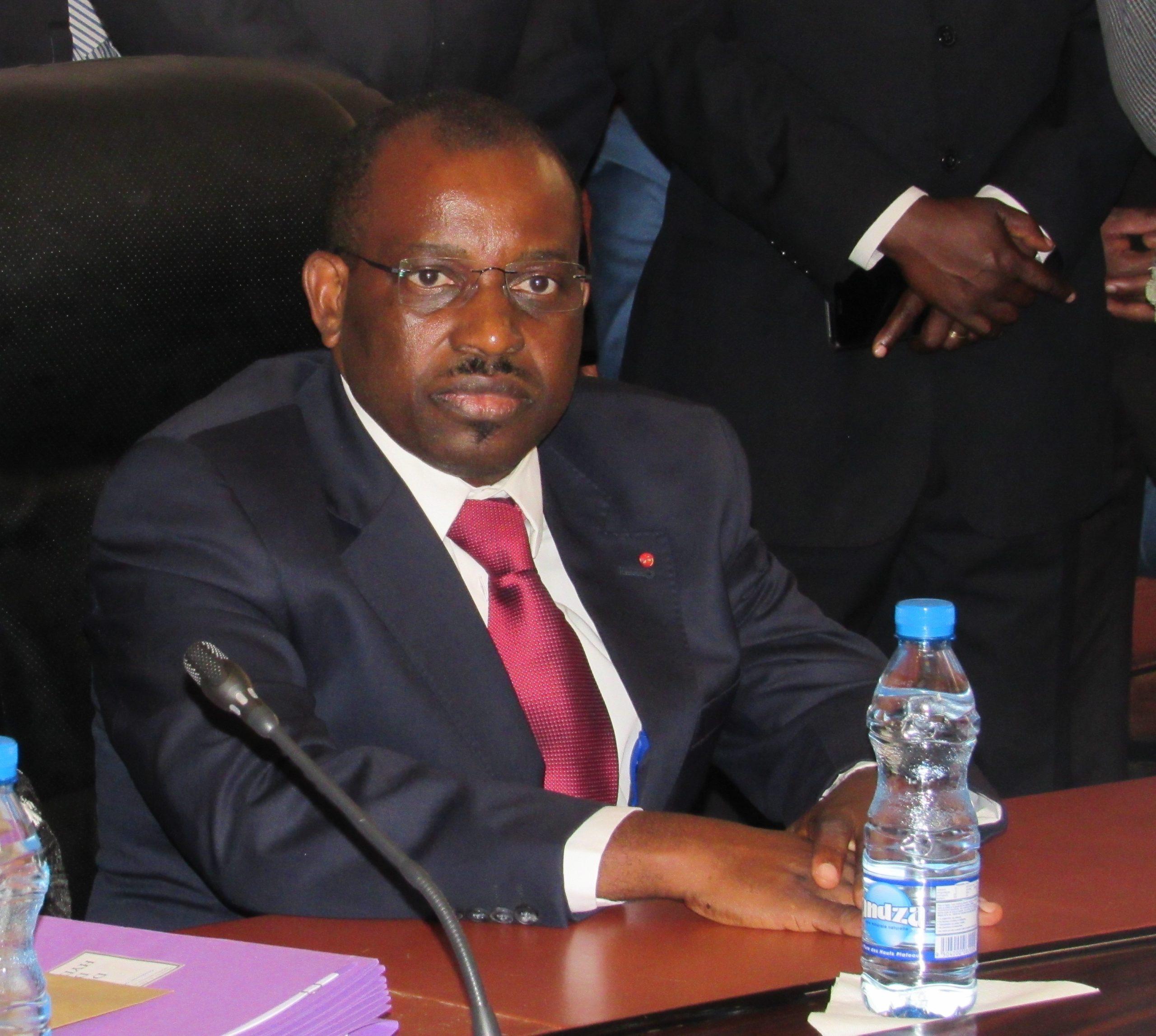 Le ministre Vincent de Paul Massassa fait la promotion du pétrole Gabonais à Houston