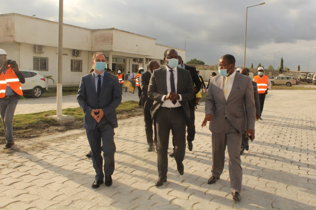 Augmentation de 70% de la capacité de production de Cimaf Gabon, le Gouvernenent plus que Satisfait !