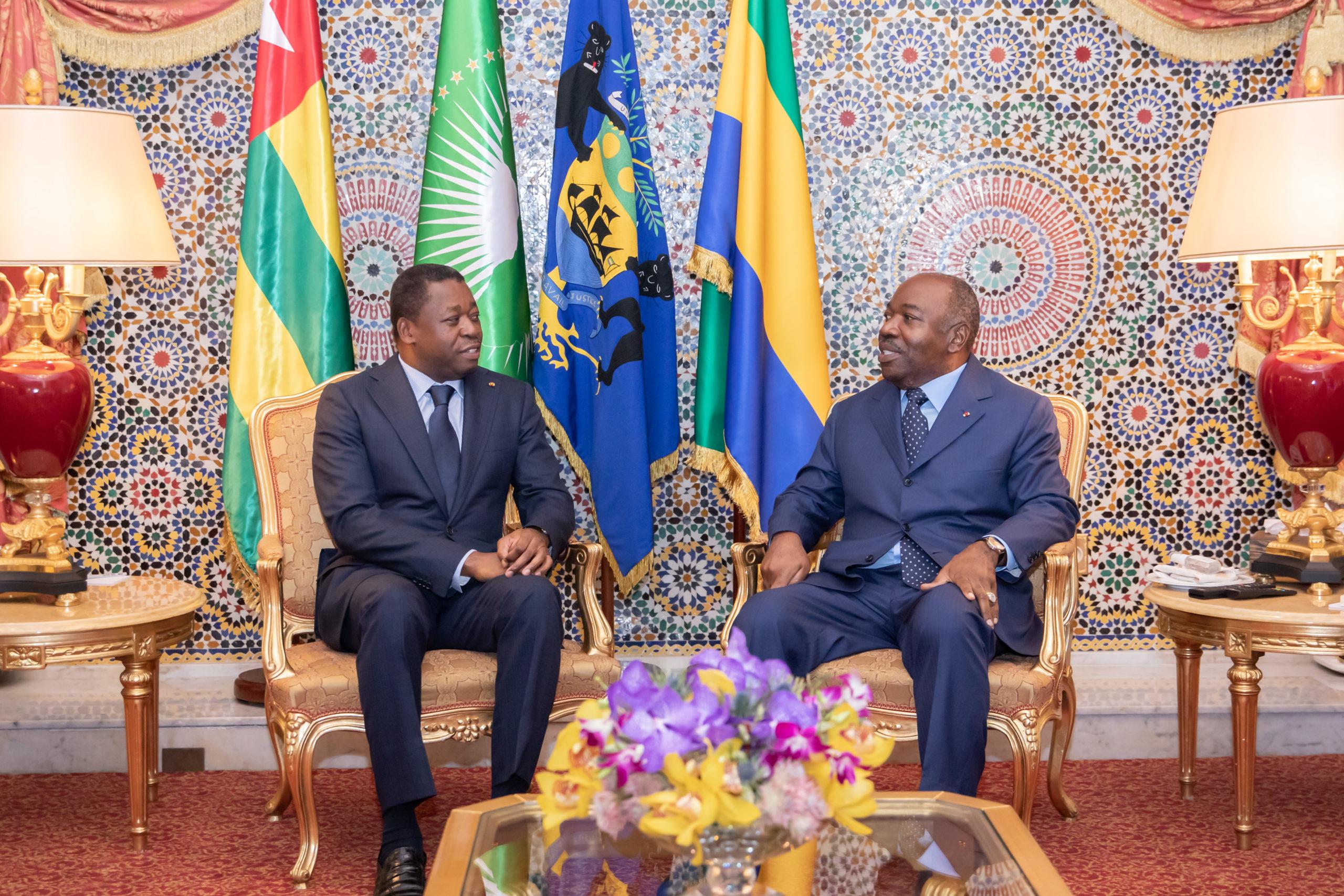 Visite présidentielle à Libreville !