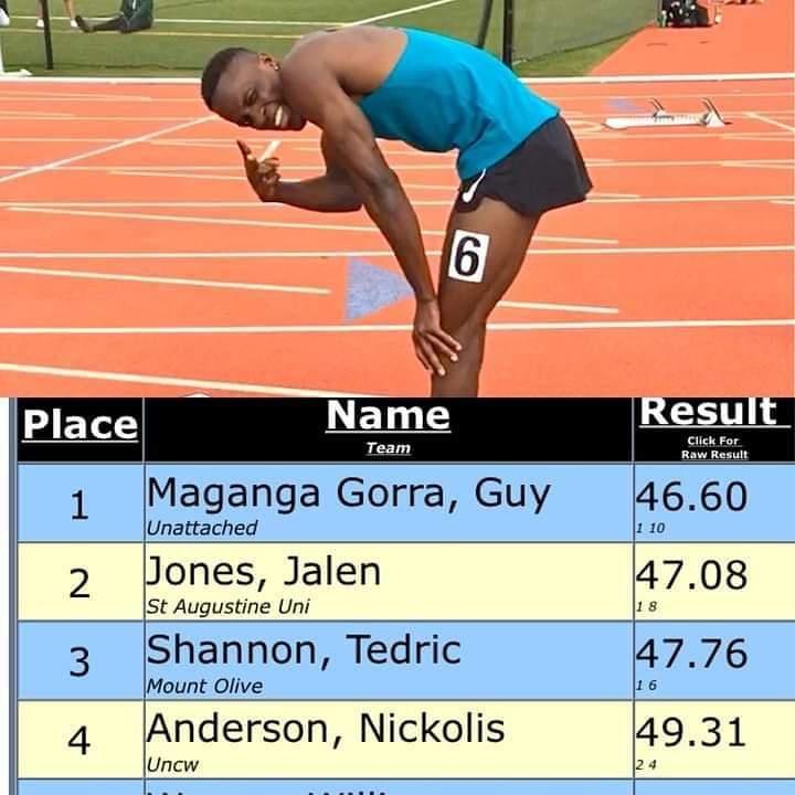 Athlétisme / Maganga Gorra : l'espoir gabonais des J.O de Tokyo !