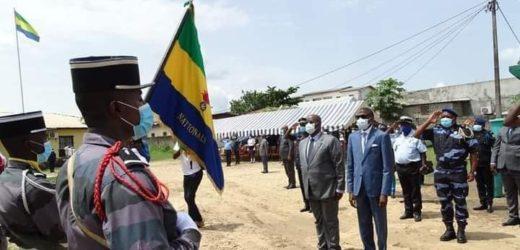 Covid-19/ Tournée de sensibilisation des personnels de défense et de sécurité : Michael MOUSSA ADAMO et Lambert Noël MATHA dans le Moyen Ogooué !