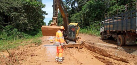 Route: Le gouvernement lance des travaux de réparation de l'axe Ebel-Abanga