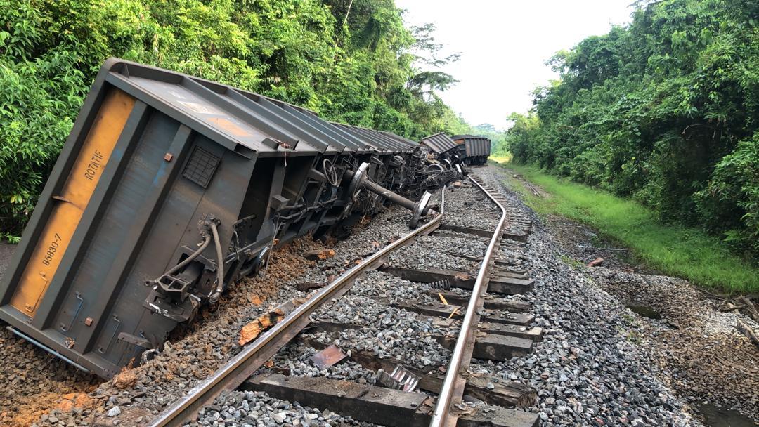 Setrag/ Déraillement d'un train minier: la circulation reprend Vendredi dès 20h !