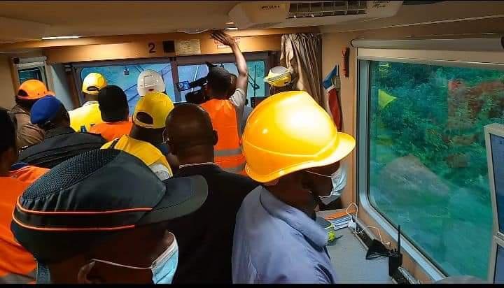 Transgabonais: Brice Constant PAILLAT sur les chantiers en cours !