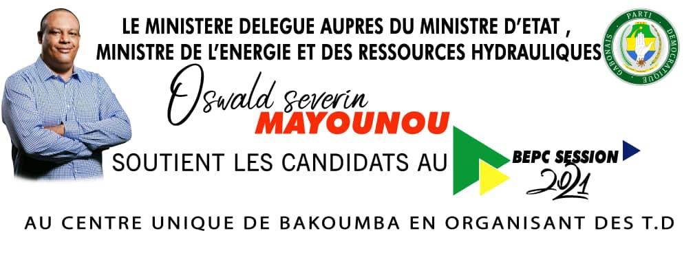 BEPC 2021: Oswald Séverin MAYOUNOU offre les travaux dirigés aux élèves du CES Zacharie Maicka  !