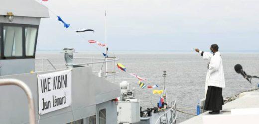 Le Gabon reçoit un patrouilleur côtier, don de la Chine