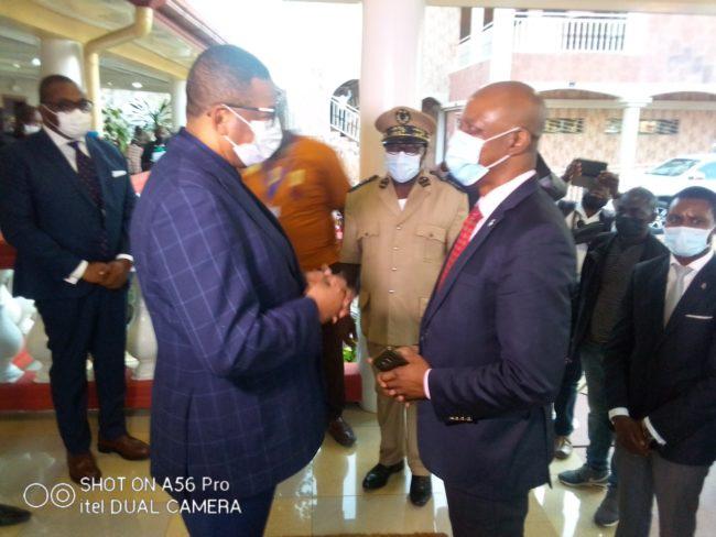 Interconnexion Gabon- Guinée équatoriale-Cameroun: Edgard Anicet Mboumbou Miyakou à Meyo-Kye !