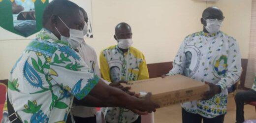 Fougamou/PDG: Léon Armel BOUNDA BALONZI soutient les 3 Fédérations du département de Tsamba-Magotsi !