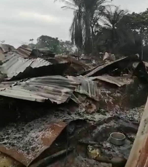 Gabon: Un village détruit par un orpailleur
