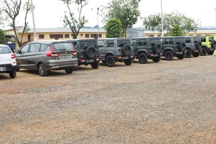 37 véhicules flambant neuf remis à la police nationale !