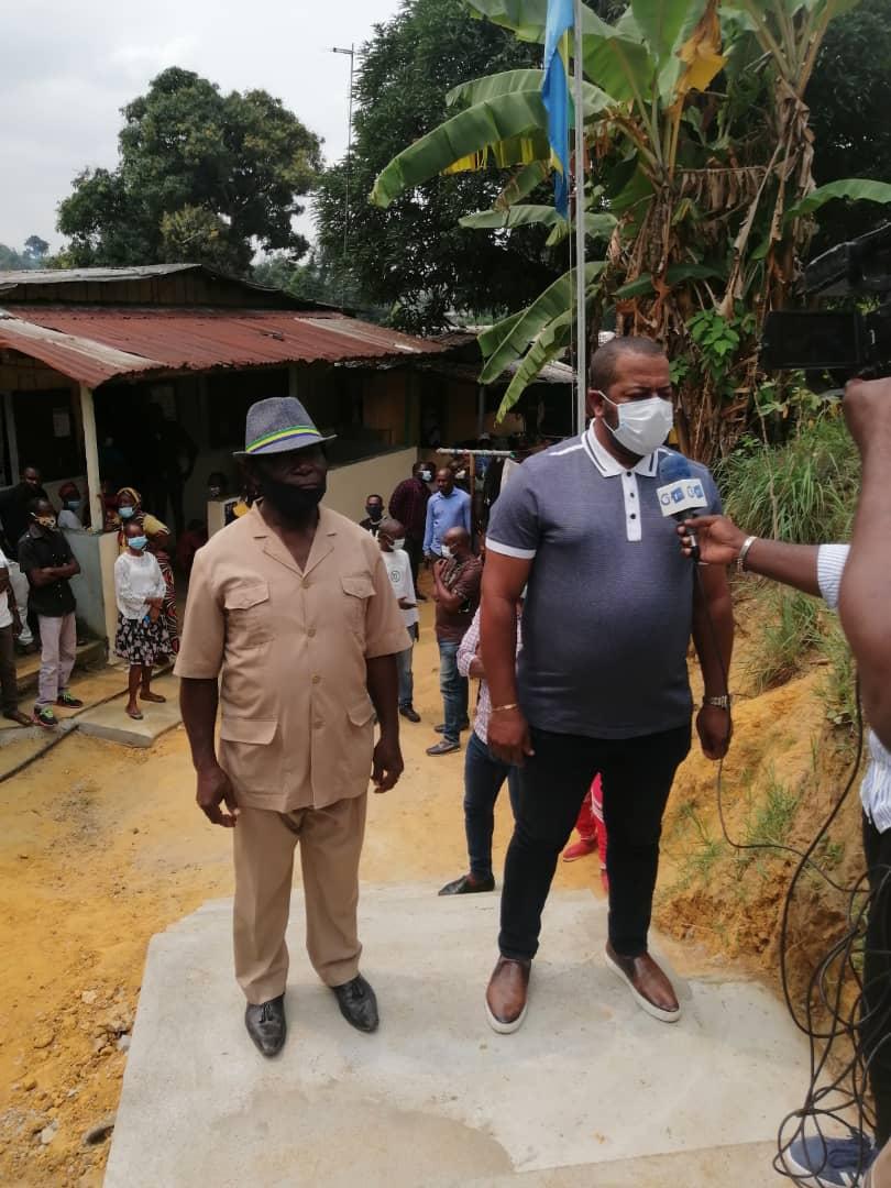 L'Honorable Séverin Pierre Ndong Ékomi met fin aux désagréments des populations de Belle-vue 2 Nation