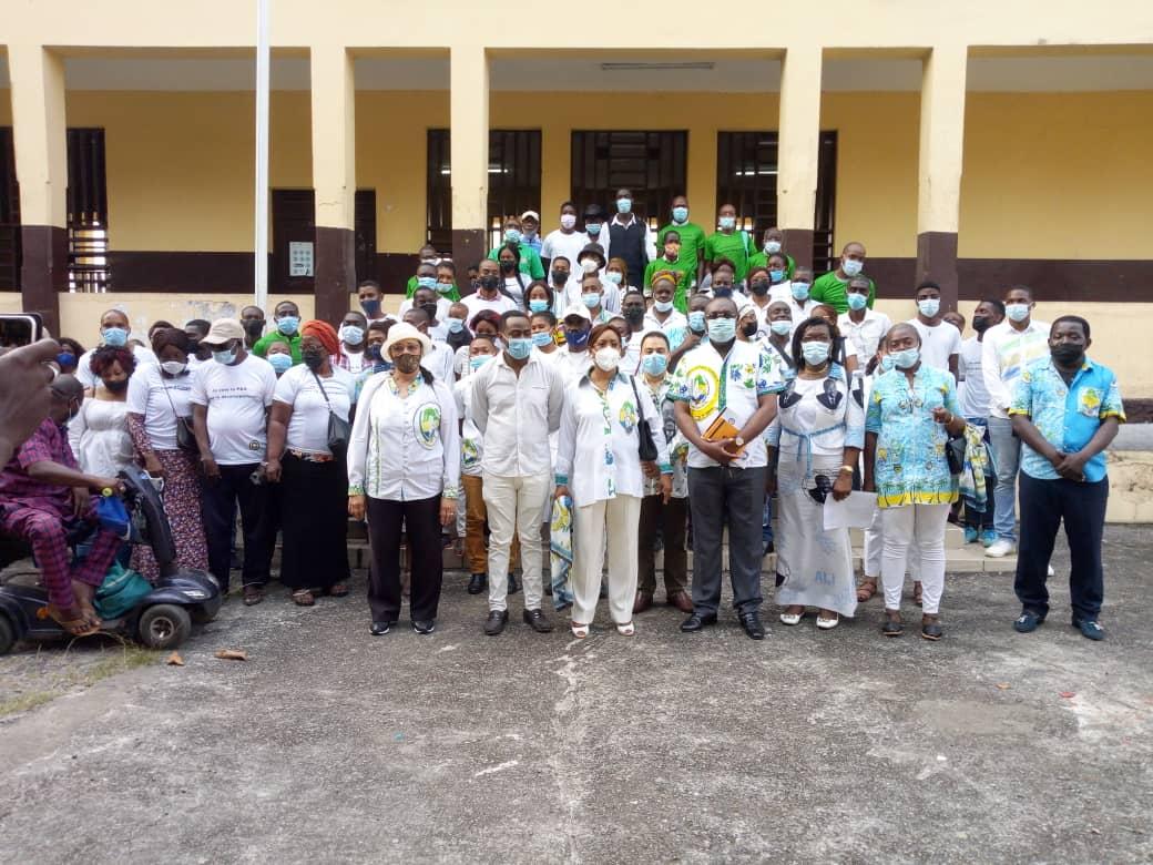 PDG/SÉANCES FÉDÉRALES D'ÉTUDES POLITIQUES: 3ème Arrondissement de Libreville 1er Siège