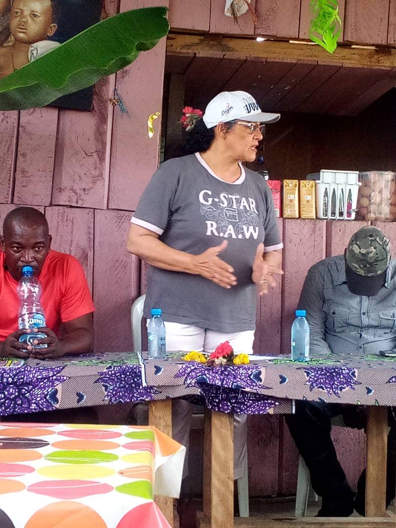Politique : L'honorable Sylvie Kotha rencontre l'Association de Bessieux et ses Braves