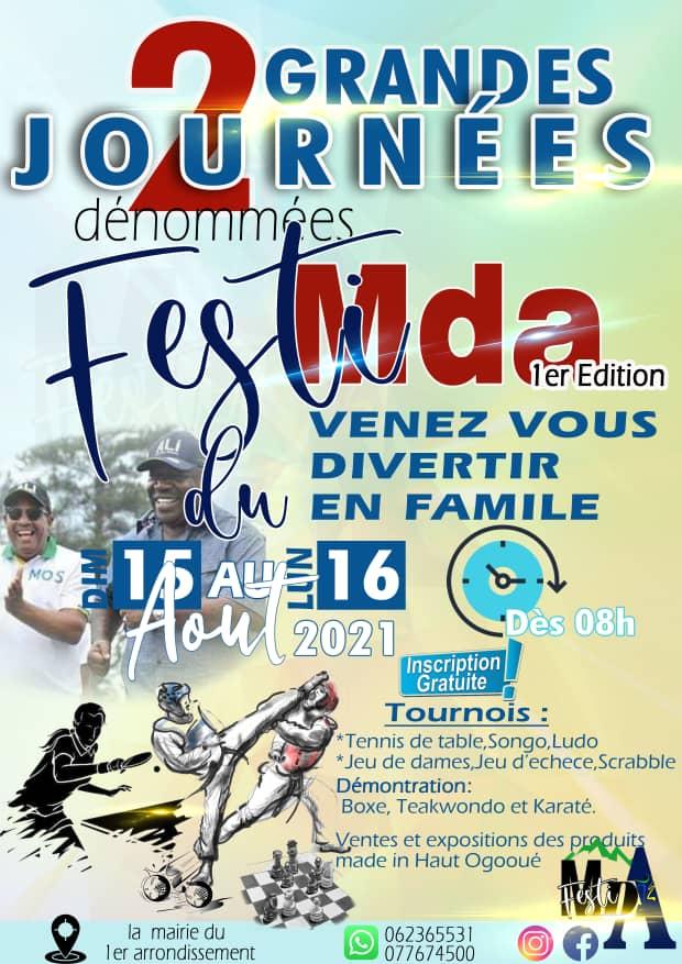 Gabon: le Festi Moanda aura lieu du 15 au 16 août prochain