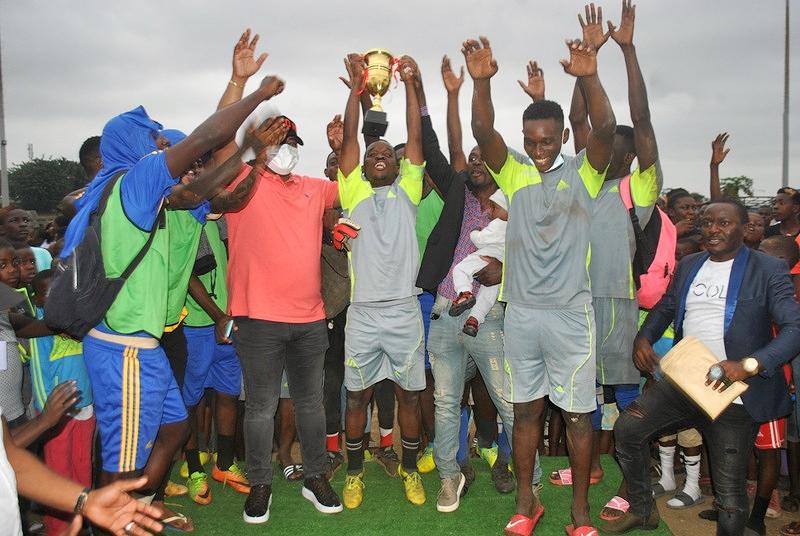 Libreville: la finale du tournoi de foot parrainée par le député Séverin Pierre Ndong Ékomi s'est jouée dans le fair-play