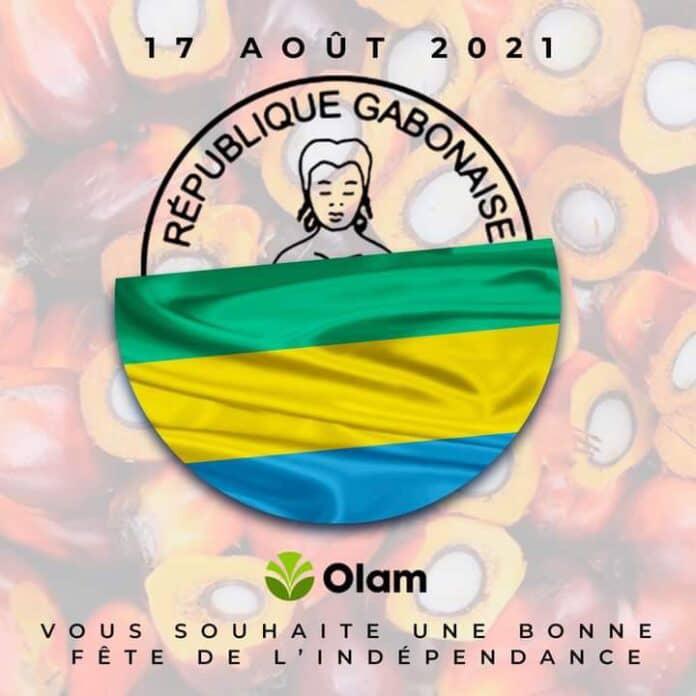 17 août 2021: Olam souhaite une bonne fête de l'indépendance aux gabonais