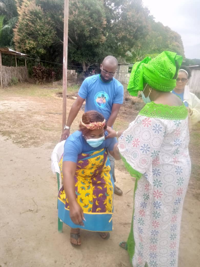 Gabon:L'association des fangs de l'estuaire et fiers de l'être,installée dans le Komo-Océan !