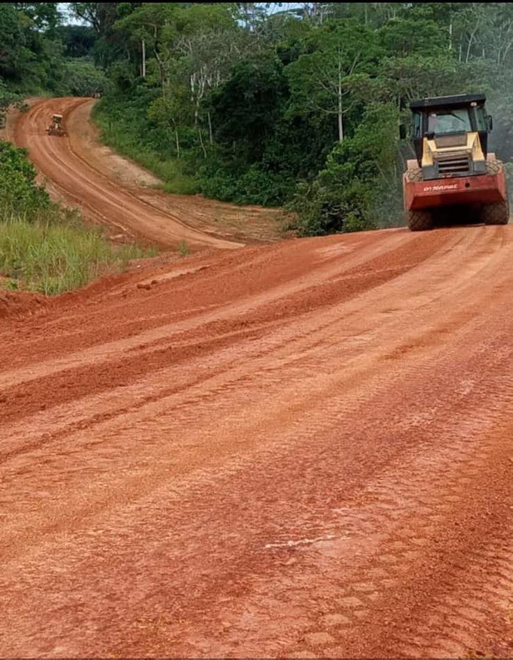 BTP/ Haut Ogooué/ Axe Okondja-Tébe/ le chantier avance …mais le délai de la finalisation des travaux reporté !