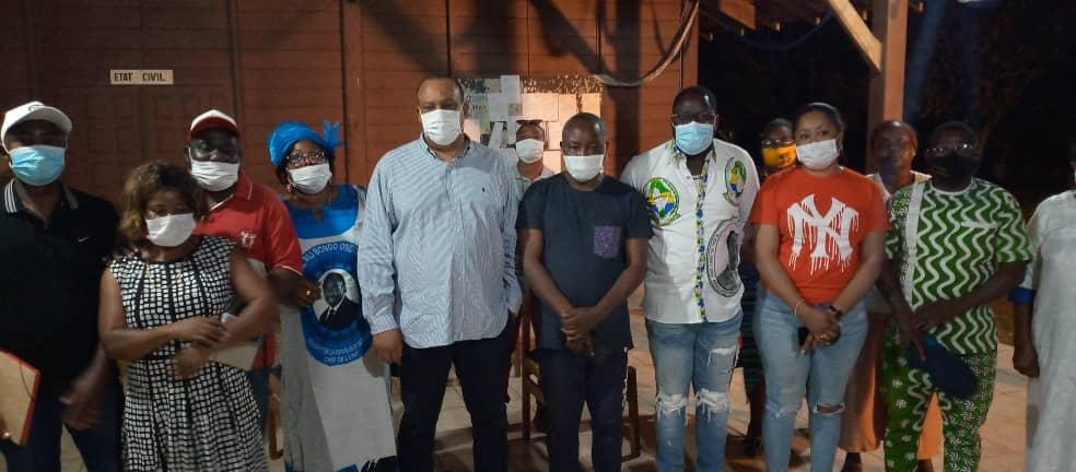 Politique : Oswald Séverin MAYOUNOU sensibilise les militants PDG de Moanda