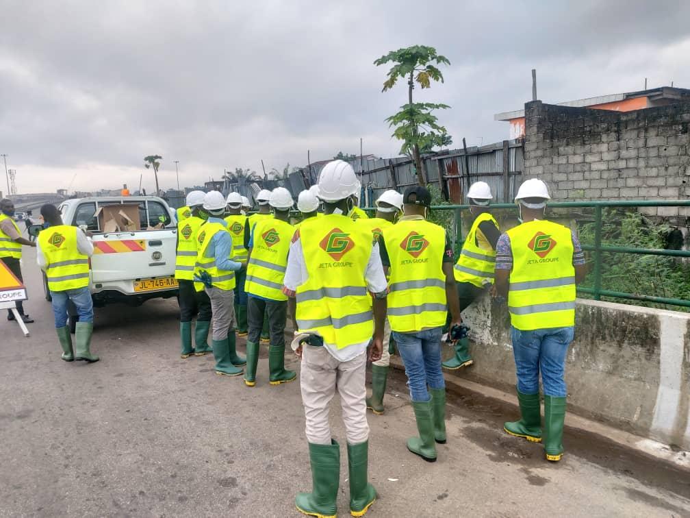 Curage des caniveaux : La mairie de Libreville stop le contrat avec Jeta groupe