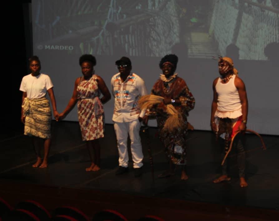 9e édition des Jeux de la Francophonie: conteurs, danseurs et musiciens enregistrent leurs performances
