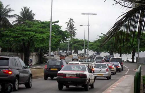 Travaux : La circulation va être fortement perturbée dans la zone du Lycée Léon MBA jusqu'au 3 octobre 2021