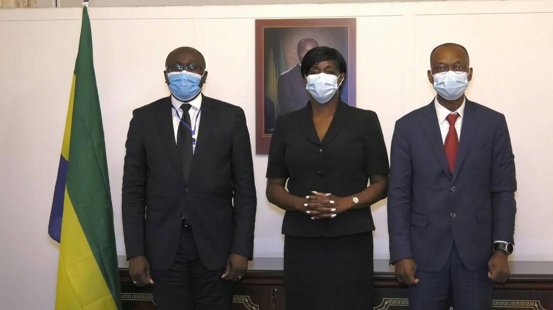 Gabon: le Directeur des Opérations de la Banque mondiale reçu par le Ministre des Travaux Publics, de l'Equipement et des Infrastructures