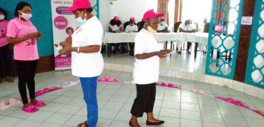 Octobre rose: le personnel féminin de Sogea-Satom sensibilisé aux cancers du sein et du col de l'utérus